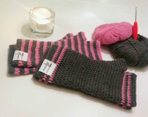 Easy Fingerless Mittens